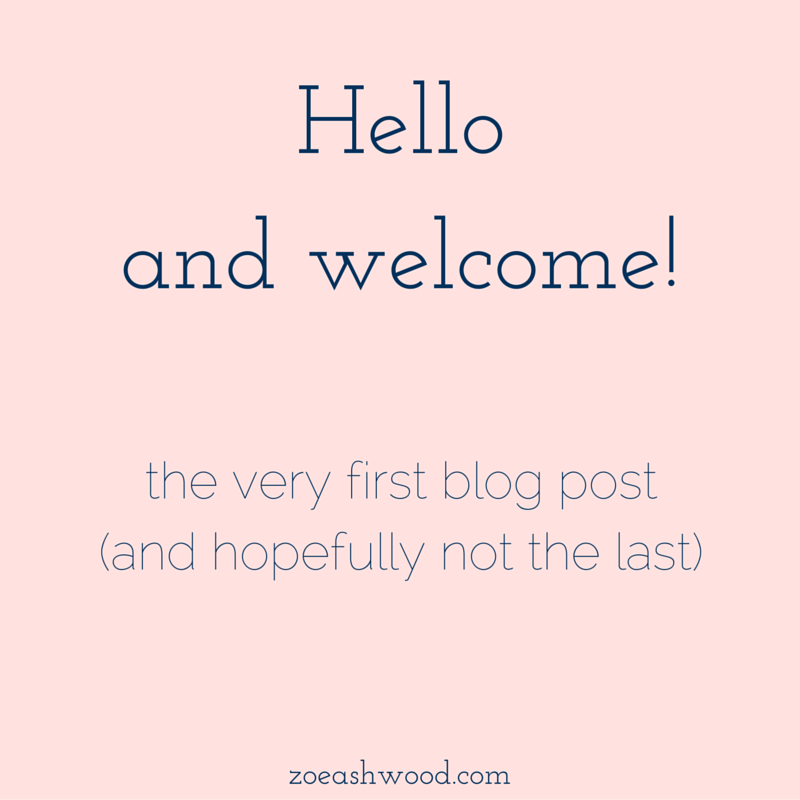 Hello and Welcome!
