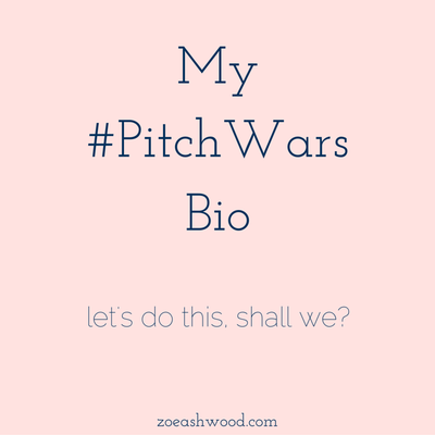 My #PitchWars Bio (Let's do this, shall we?)