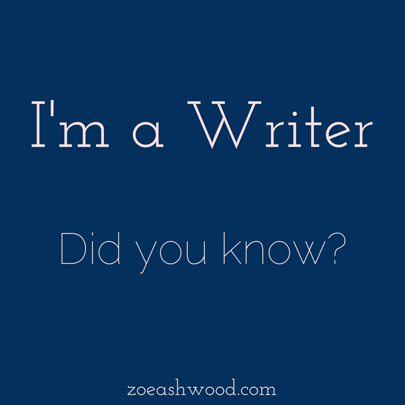 "I still haven't told people in my ""real"" life that I write. I know some people tell everyone they're writers before they even finish the first draft of their debut novel. I admire them immensely. I know others never tell anyone, even after they've been published. I understand them, as well."