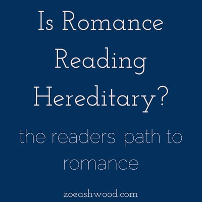 Is Romance Reading Hereditary?