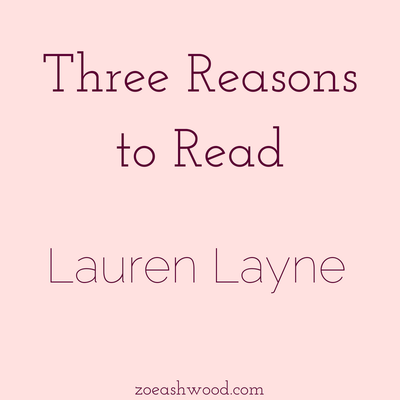 Three Reasons to Read: Lauren Layne