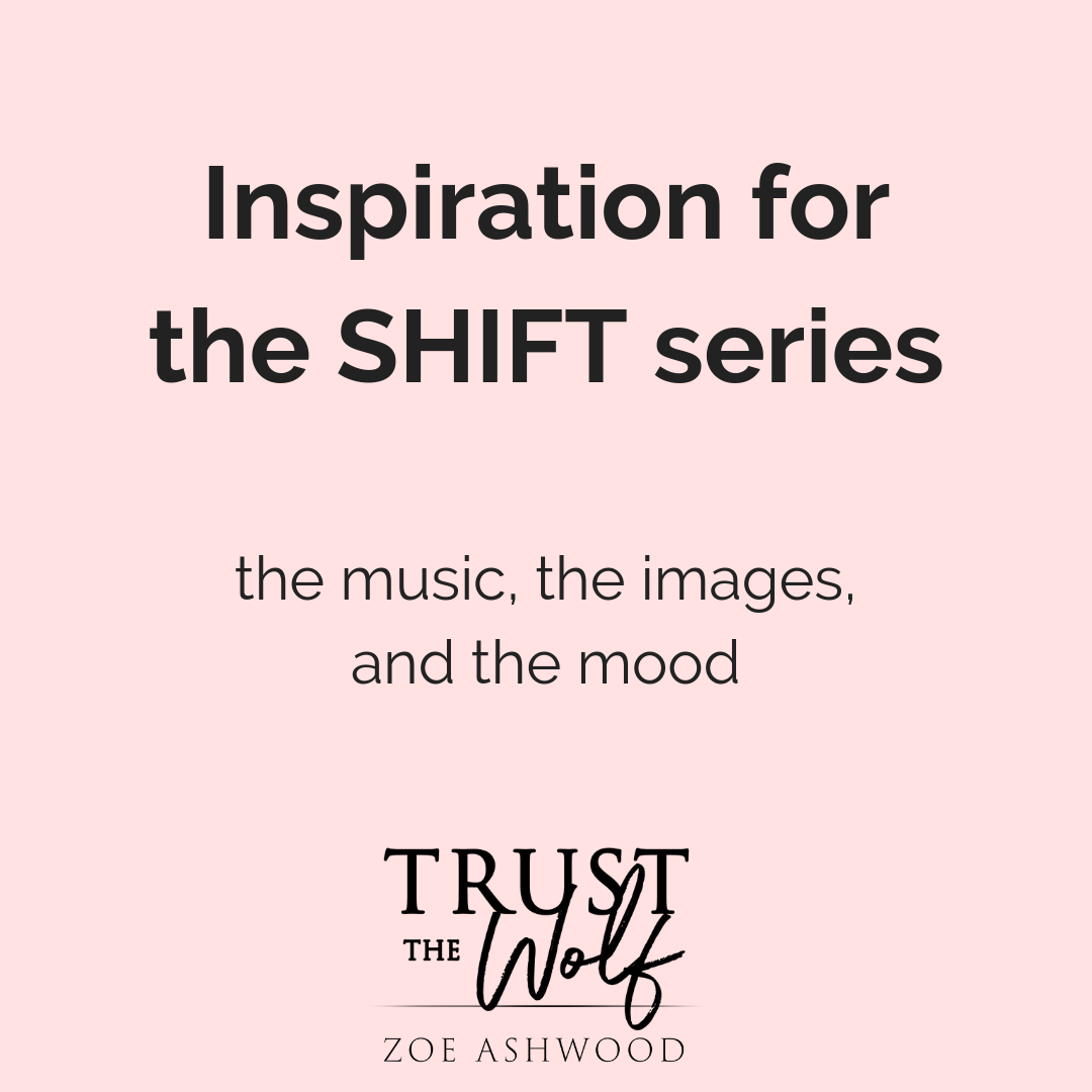 Inspiration for the Shift Series by Zoe Ashwood